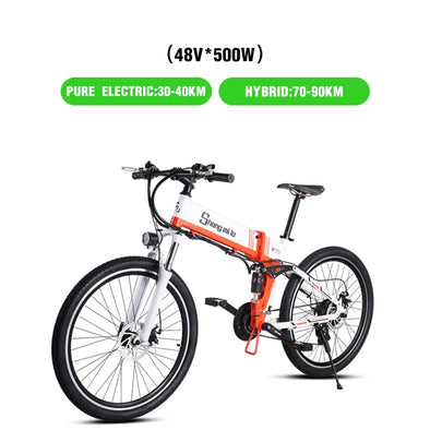 New electric bicycle 48V500W  lithium electric bicycle - BC&ACI