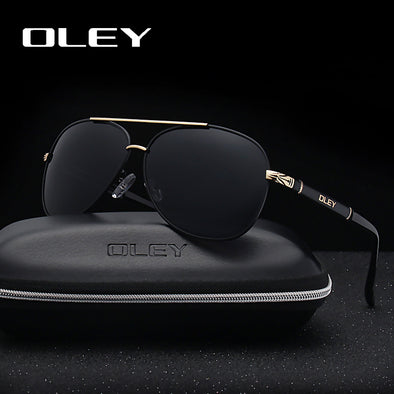 New OLEY Brand Sunglasses Men Polarized Fashion Classic Pilot - BC&ACI