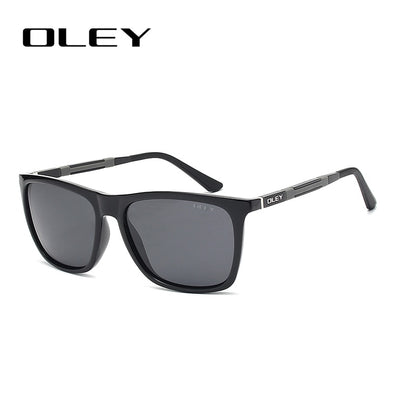 New OLEY Lightweight Aluminum-Magnesium Polarized Men Sunglasses - BC&ACI