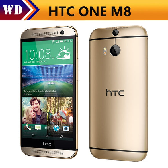 "Original HTC ONE M8 Phone 32GB ROM Quad-Core 5.0""Touch screen 3G&4G WIFI GPS - BC&ACI"