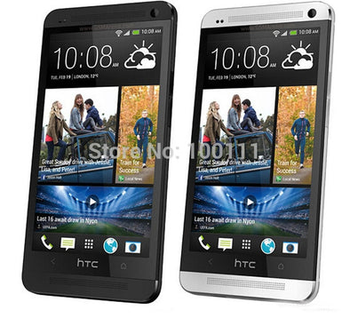 Original Phone HTC ONE M7 Unlocked 3G 4G Wifi GPS 4.7'' Touch Cell Phone 2GB RAM 32G - BC&ACI