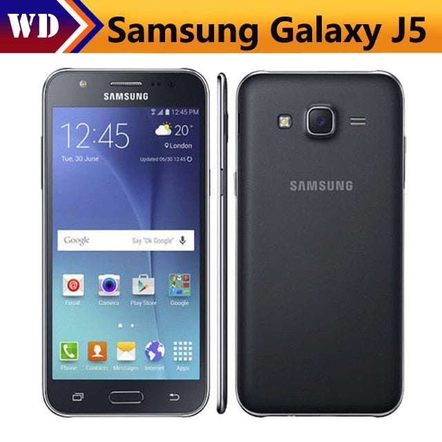 Original Samsung Galaxy J5 J500F Quad Core 5 0 Inch 1 5GB RAM 8GB ROM  13 0MP -