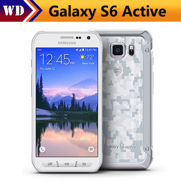 Original Samsung Galaxy S6 Active / G890A Octa Core Android 5.0 Cellphone 3GB+32GB 16MP