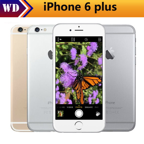 Original Unlocked Apple iPhone 6 Plus Mobile Phone GSM WCDMA LTE 1GB RAM 16/64/128GB - BC&ACI