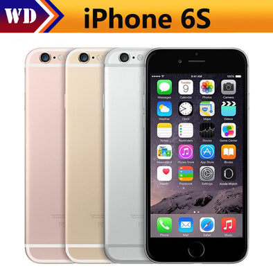 Original Unlocked Apple iPhone 6S 4G LTE Mobile phone 2GB RAM 16/64GB ROM 4.7'' 12.0MP - BC&ACI