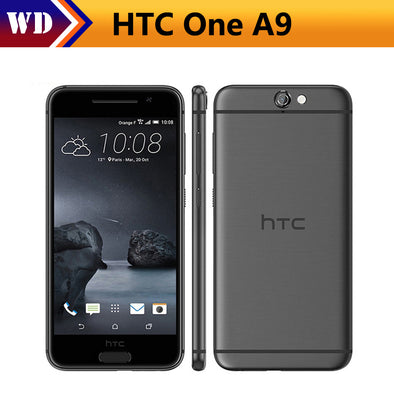 "Original Unlocked HTC One A9 16/32GB ROM 4G LTE Mobile Phone 5.0"" 13.0MP Quad-core - BC&ACI"