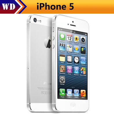 Original iPhone 5 Factory Unlocked 16GB/32GB/64GB Storage GPS WIFI Dure Core 4.0 Screen Cell Phone - BC&ACI
