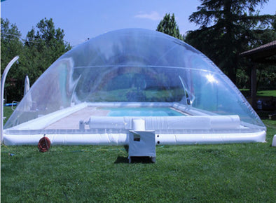 New Outdoor transparent free blower  inflatable pool bubble dome - BC&ACI