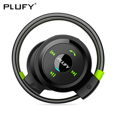 PLUFY Sports Bluetooth Headset Wireless Headphones Earphones Running Ecouteur - BC&ACI