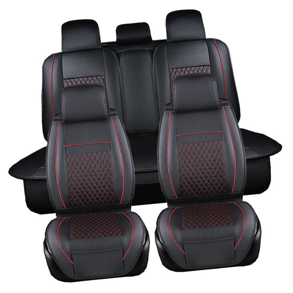 PU Leather Automotive Universal Car Seat Covers t-shit Fit seat cover accessories - BC&ACI