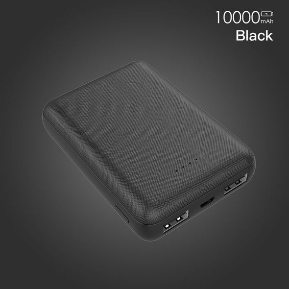 PZOZ Power Bank 10000mAh Dual USB Mobile Phone External Battery Fast Charge For iphone