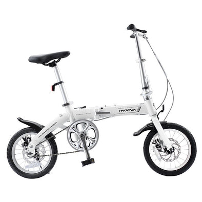 Phoenix 14'' Folding Bike Ultra-light Portable Bicycle  Adult Student Aluminum - BC&ACI