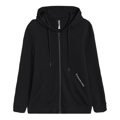 Pioneer camp new simple hooded jacket men brand clothing letter embroidered jacket coat - BC&ACI