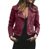 Plus size women's pure color trend slim slim fashion temperament hooded long sleeve jackets - BC&ACI