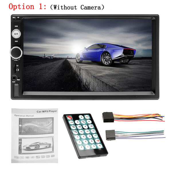 "New 7"" HD Player MP5 Touch Screen Digital Display Bluetooth USB SD Multimedia - BC&ACI"