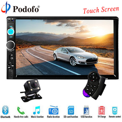 "New 7"" HD Touch Screen Player MP5 SD/FM/MP4/USB/AUX/Bluetooth Car - BC&ACI"