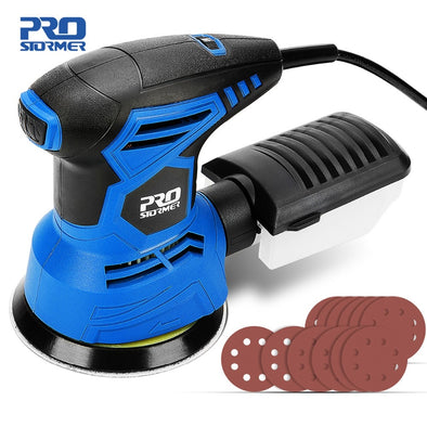 Prostormer 300W Sander Machine Orbital 7 Variable Speed 13000RPM Orbital Sander Polisher