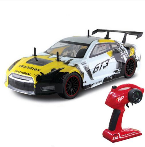 New RC Car For GTR GT3 2.4G 1:10 4WD Drift Car High Speed Champion Radio Control Vehicle - BC&ACI
