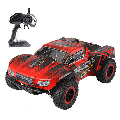 RC Cars Muscle Extreme Monster Truck 2.4G Remote Control Speed Racing Car
