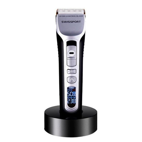 New RUCHA Barber Electric Hair Clipper Rechargeable Hair Trimmer - BC&ACI