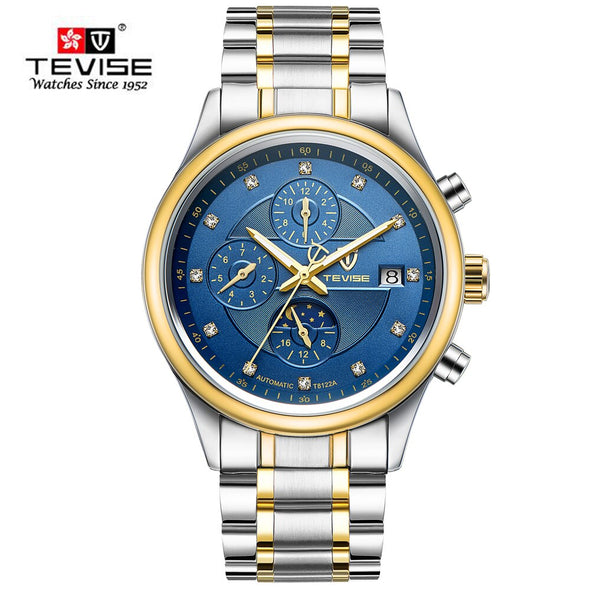 Relogio Masculino Automatico TEVISE Automatic Mechanical Watches Men Fashion - BC&ACI