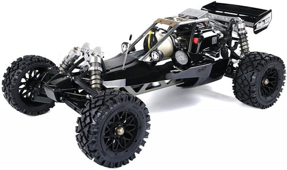 Rovan RC Radio Control Black 45cc Gas Baja Buggy 1/5 Scale Ready to Run - BC&ACI