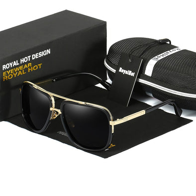 New RoyalHot Retro Men Women Polarized UV400 Sunglasses - BC&ACI