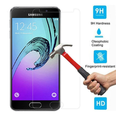 Screen Protector Tempered Glass for Samsung Galaxy J4 J6 A6 A8 2018 A3 A5 A7 2017