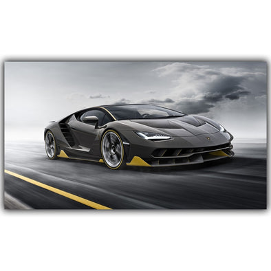 New Custom Home Decoration Fashion Silk Fabric Wall Poster Car Design - BC&ACI