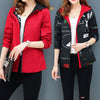 New Streetwear Hooded Printed jacket women Causal windbreaker - BC&ACI