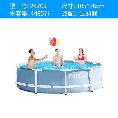 Super Large  Swimming Pool with Frame Supporter Environmentally Thickened