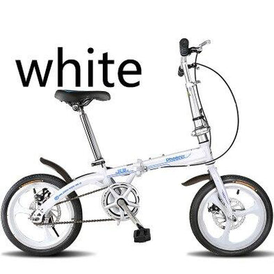 New Folding bicycle 14 inch speed double disc brake ultra light - BC&ACI