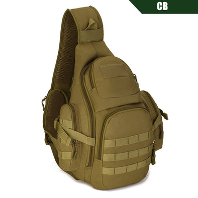"New Tactical Sling Bag 14"" Laptop Waterproof Military Travel Backpack - BC&ACI"