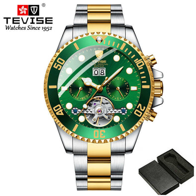 New Top Luxury Brand Mens watches Stainless steel Automatic Mechanical - BC&ACI