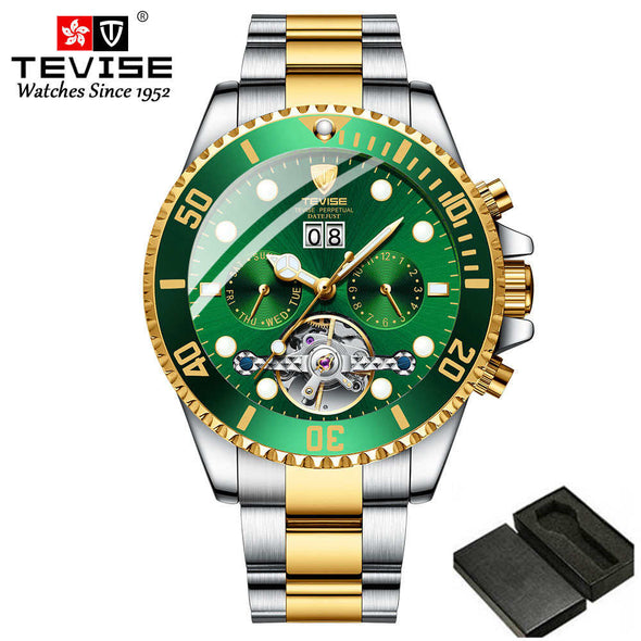 New Top Luxury Brand Mens watches Men Stainless steel Automatic Mechanical Watch - BC&ACI