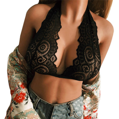 New Bra Sexy Women's Hollow Out - BC&ACI