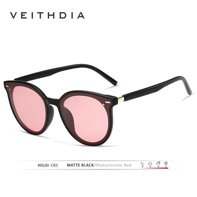 New VEITHDIA Brand Photochromic Womens Sunglasses Polarized Mirror Lens Vintage - BC&ACI