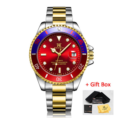 New WEISIKAI Diver Watch Automatic Mechanical Watches Sports Luxury Men's Diving Watches Male Wristwatch - BC&ACI