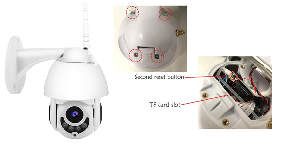 New WIFI Camera Outdoor PTZ IP Camera 1080p Speed Dome CCTV - BC&ACI