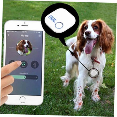 New White Nut 2 Smart Mini Tag Bluetooth Tracker Gps - BC&ACI