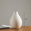 New White Vase Ceramic Vase Home Decoration Modern - BC&ACI