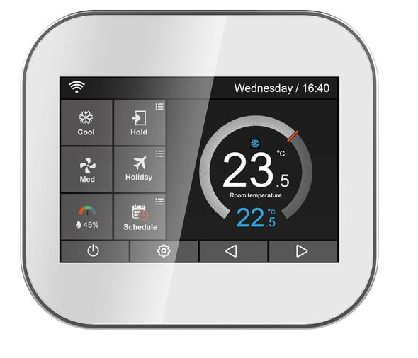 New WiFi - 3H/2C, Gas / Electric / Heat Pump / Fossil Fuel /Conventional Thermostat - BC&ACI