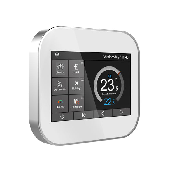 New Wifi touch thermostat for water heating/radiator valve - BC&ACI