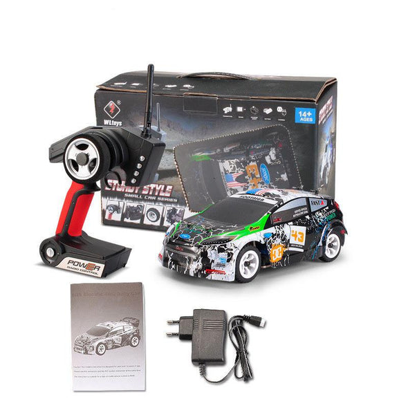 New Wltoys K989 1/28 2.4G 4WD Brushed RC Remote Control Rally Car RTR with Transmitter  RC Drift Car - BC&ACI