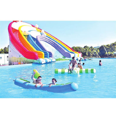 New inflatable water slide inflatable pool inflatable water combination fun inflatable water - BC&ACI
