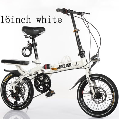 New k2 16 inch and 20-inch folding bicycle for adults Ultra-light - BC&ACI