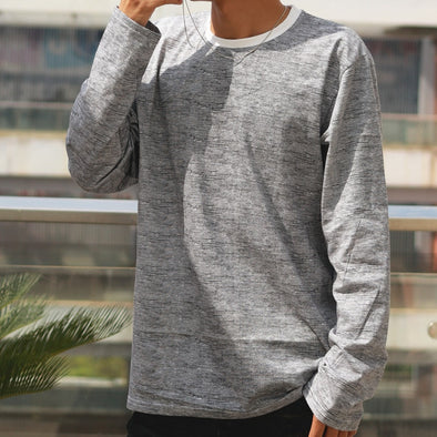 long sleeve t shirt man under clothes cheap cotton male under t-shirt Autumn Winter cotton shirts clearance sale