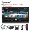 New mirror link Android 8.0 car radio 2din MP5 player subwoofer Bluetooth - BC&ACI