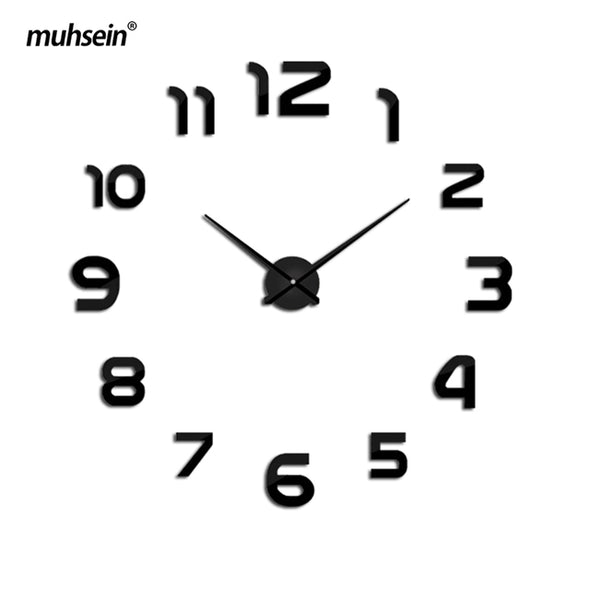 New muhsein clock watch Wall Clock diy wall clocks Acrylic mirror - BC&ACI