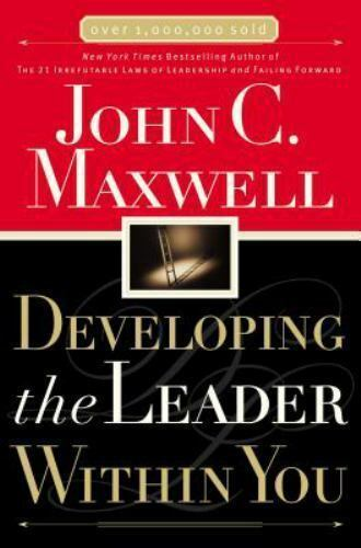New Developing the Leader Within You by John C. Maxwell ( Paperback) - BC&ACI